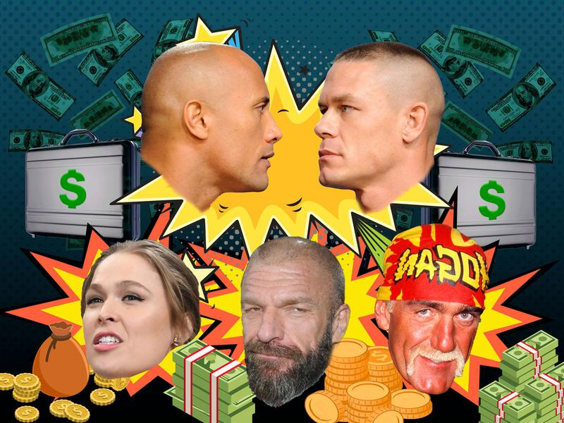 The Richest Pro Wrestlers of All Time | Stadium Talk