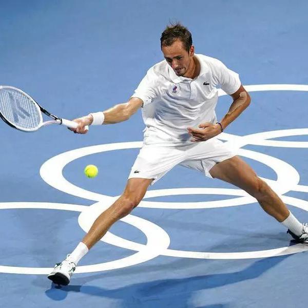 Daniil Medvedev's Tennis Racket (2021)