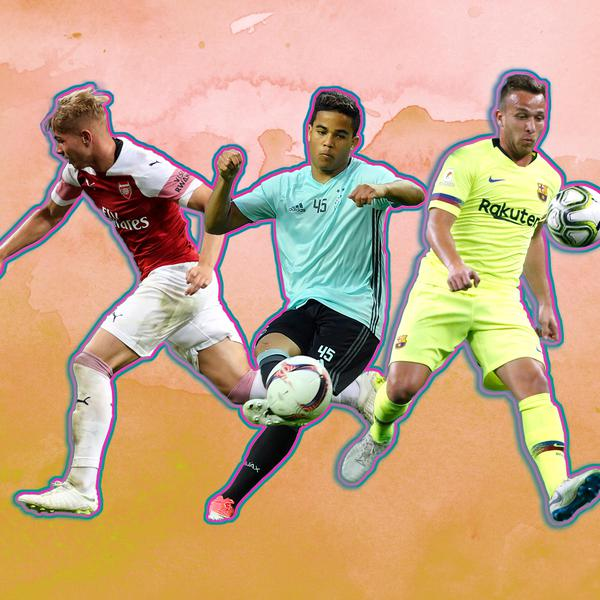 25 Rising Stars to Watch in International Football