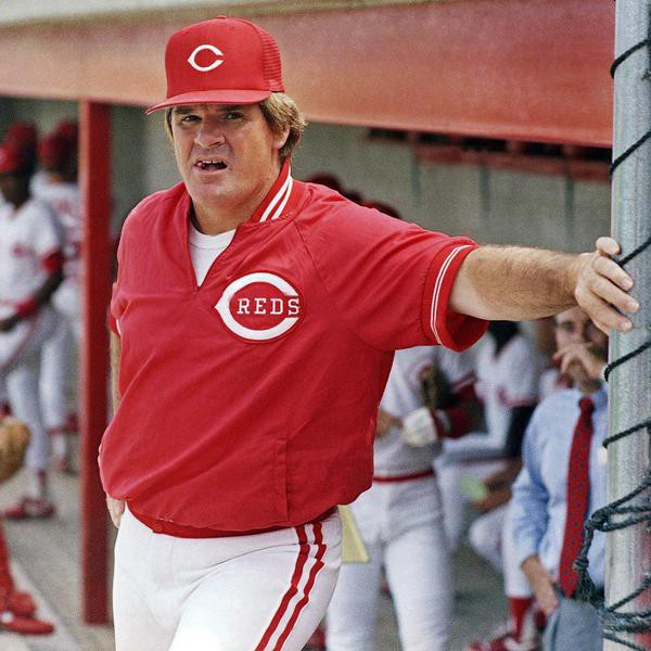 Cincinnati Reds manager Pete Rose.