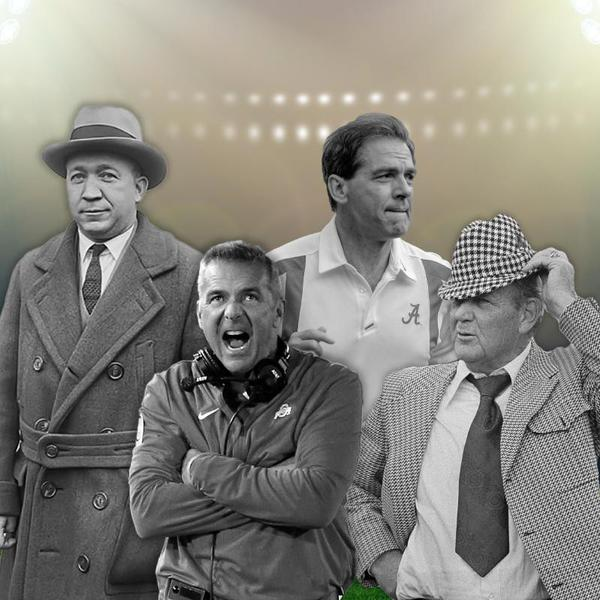 Greatest College Football Coaches Ever