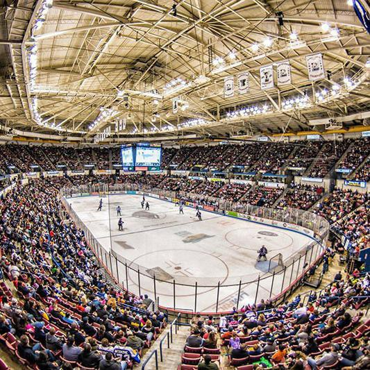 Best Minor League Hockey Arenas