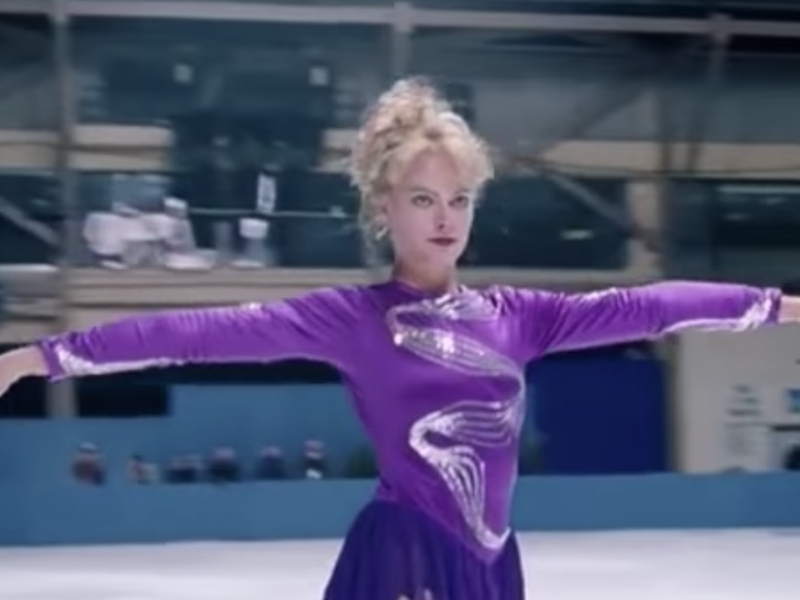"Margot Robbie in ""I, Tonya."""