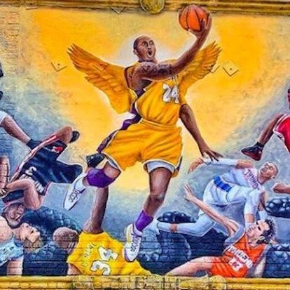 Most Inspiring Kobe Bryant Murals in the World